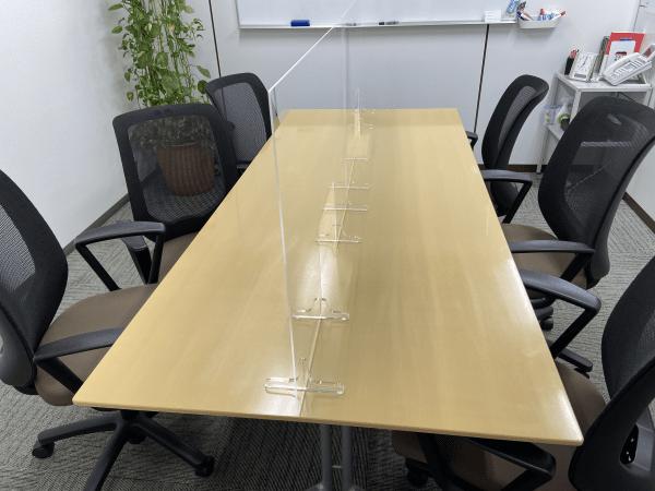 コロナ対策面談室